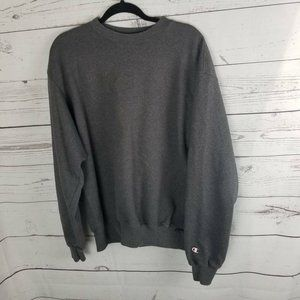Champion Authentic Eco Unisex Pullover Sweater Gra